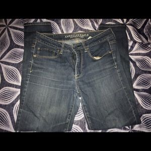 American Eagle High Rise Skinny Jeans (6 Short)